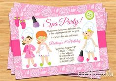girls spa birthday party - - Yahoo Image Search Results