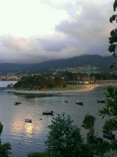 La Ladeira. Nigran. Galicia. Spain. Desembocadura rio Miñor