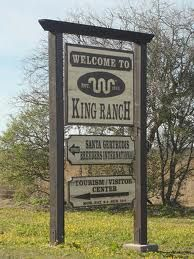 King Ranch, Kingsville, Tx - 825,000 acres encompassing 6 Texas counties from Corpus Christi to Brownsville... bigger than state of Rhode Island and one of largest ranches in the world.  They deal in cattle and thoroughbred horses, with their own state of art saddle shop that makes gorgeous furniture, saddles, handbags, wallets, boots, vests, etc.  They have interests in citrus farms and pecans.