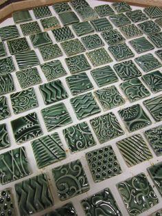 green glazed tiles 6 in 2020 Glazed Ceramic Tile, Ceramic Mosaic Tile, Glazed Tiles, Clay Tiles, Ceramic Painting, Ceramic Art, Ceramic Texture, Tiles Texture, Garden Tiles