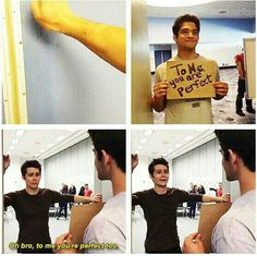 Dylan o'Brien is perfect to everyone