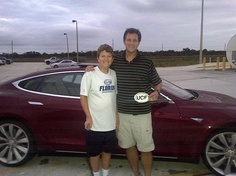 Father and Son Drive Tesla Model S Over 400 Miles on a Single Charge : TreeHugger