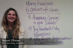 Three simple tips for massage therapists to connect with clients using FB | Video @ #Massamio's blog