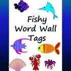 Fishy Word Wall Tags