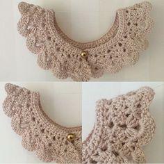 ✖️Söt virkad krage till barn eller vuxen✖️ Cute collar for kids or adults -------------------------------------------- #krage #virka #accessoarer #fraktfritt #tillsalu #inspoforkiddos #girl #frifrakt #inspiration #inspirationforflickor #kläder #barnkläder #barnklädesinspo #barnklädersäljes #collar #crochet #baby #adorable #handmade #inspoforkiddos #inspoforflickor #nurseryinspo #babygift #nurserydecor #nursery #babyshower #barnrumsinspo #bebis #gravid #bf2017 #bf2016