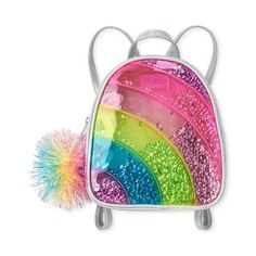 Girls Mini Backpack Sale Only $6.59 - Dealmoon Cute Mini Backpacks, Backpacks For Sale, Girl Backpacks, Cute Purses, Purses And Bags, Little Girl Backpack, Mochila Kanken, Rainbow Bag, Girls Fashion Clothes