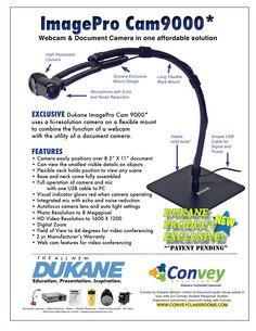 dukane-imagepro-cam-9000 by SchoolVision Inc. via Slideshare