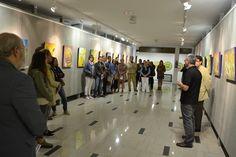 Exposición Serie BuscaLuz en el Auditorio de Valleseco · 2014