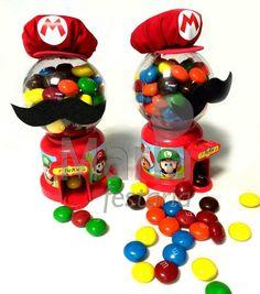 Candy Machine Super Mario Bros. Lembrancinhas Personalizadas