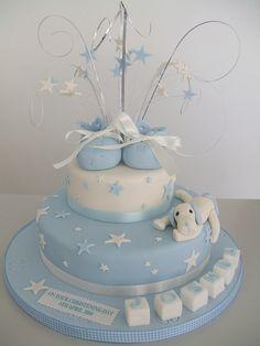 Baptism cake. Sweet idea!