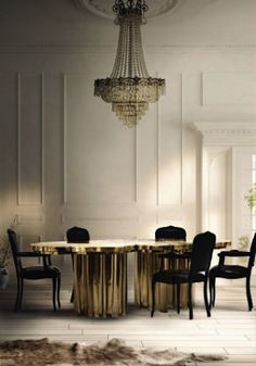 Top 50 Modern Dining Tables to Inspire You #interiordesign #diningroom Dining Room Inspiration See more at: http://moderndiningtables.net/2016/01/07/top-50-modern-dining-tables-to-inspire-you/