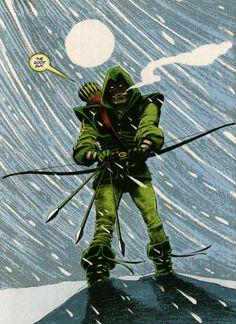 Green Arrow - Story by Denny O'Neil Art by Denys Cowan