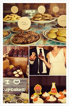 LOVE the cookies idea! S'mores, ice cream bar, and cookies...oh yeah I'm rotting everybody's teeth out mwahaha