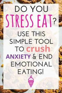 Do you try to stop stress eating but find it just too hard to avoid food using food to cope? Find out how to manage your worries and anxieties with these tips and alternatives for that will help you break the harmful cycle that interferes with your health Quick Weight Loss Tips, Weight Loss Snacks, Weight Loss Challenge, Losing Weight Tips, Weight Loss Goals, Best Weight Loss, How To Lose Weight Fast, Weight Gain, Lose Fat