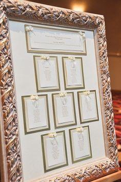 Grand Design wedding table plan www.granddesignweddings.co.uk