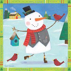 snowman - Holli Conger