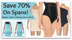 Save 70% On Spanx Shapewear & Swimwear!
