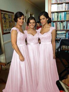 Long Chiffon Wedding Evening Formal Party Ball Gown Prom Bridesmaid Dress 6-18 | eBay