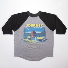 439e48dac VINTAGE ORIGINAL CONCERT TEE SHIRT JOURNEY WORLD TOUR 1986 LARGE 50/50    Clothing, Shoes & Accessories, Vintage, Men's Vintage Clothing   eBay!