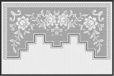 Bedroom Decoration Filet Crochet