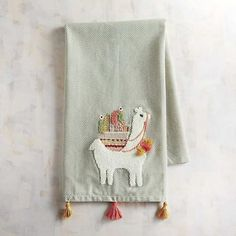 Llama Tea Towel #affiliate