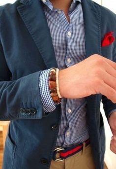 Navy Blazer/Sportcoat - mens style