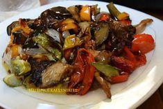 Λαχανικά ψητά στο φούρνο !!! ~ ΜΑΓΕΙΡΙΚΗ ΚΑΙ ΣΥΝΤΑΓΕΣ 2 Gf Recipes, Greek Recipes, Veggie Recipes, Vegetarian Recipes, Cooking Recipes, Healthy Recipes, Healthy Food, Greek Cooking, Yummy Food