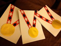 """This will be fun to give out for """"Most Enthusiastic Participant"""" or """"Loudest Reader"""" or """"Best Cheerer,"""" etc., so that everyone gets a medal."""