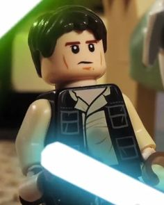 Han Solo vs. General Grievous in LEGO Animated Short