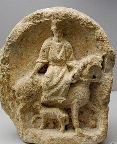 Musée des Antiquités nationales, Saint-Germain-en-Laye by Jaufré Rudel on Flickr.Epona, Celtic godess of horses.