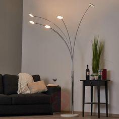 Buelampe Hazel med 5 LED-lys,-9987023-30