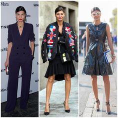 The 21 Best-Dressed Women Right Now - Italian Fashion Editor and major street style star, Giovanna Battaglia