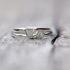 Mini Diamond Slice Ring - Gardens of the Sun Jewelry She's scarred by memories. She ain't perfect and she won't let just anyone see what's beneath her smile. But stay with her a little longer.