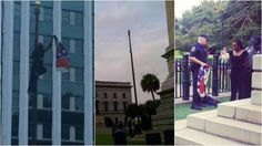 Woman defies police orders, removes Confederate flag in front of SC statehouse | news
