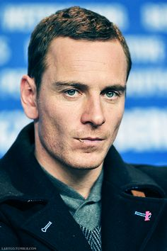 Michael Fassbender via Tumblr