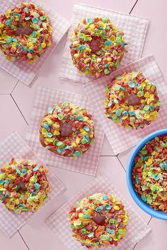 Fruity Pebbles Doughnutscountryliving
