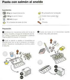 Pasta con salmón Steam Cooker, Make It Simple, Good Food, Fresco, Recipes, Watches, Cooking, Natural, Salads
