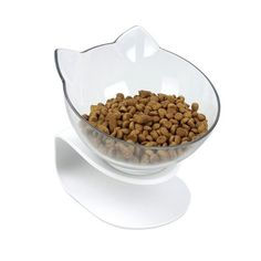 Pethouzz Slanted Cat Food Bowl Raised Stand Pet Bowls for Cats and Small Dogs Pet Food Container, Food Containers, Flow Of Food, Cheap Pet Supplies, Best Cat Food, Dog Water Bowls, Pet Feeder, Cat Feeding, Food Bowl