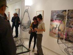 Vernissage à la galerie 3/10/2013 - Laure Millet et Pascal Vochelet  #Art contemporain