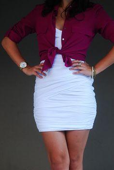 White dress remix