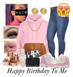 It's My Birthday  by nyia101 on Polyvore featuring polyvore fashion style Versace Sephora Collection clothing