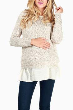 Shop cute and trendy maternity clothes at PinkBlush Maternity. We carry a wide selection of maternity maxi dresses, cute maternity tanks, and stylish maternity skinny jeans all at affordable prices. Cute Maternity Outfits, Maternity Sweater, Maternity Tops, Maternity Fashion, Maternity Style, Pink Blush Maternity, Knitting For Kids, Knitting Designs, Holiday Outfits