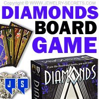 ►► DIAMONDS - THE BOARD GAME ►► Jewelry Secrets