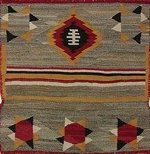 Old Navajo Indian Saddle Blanket Native American Blanket, Native American Rugs, Native American Crafts, American Indian Art, Native American Indians, Native Americans, Navajo Weaving, Navajo Rugs, Indian Quilt