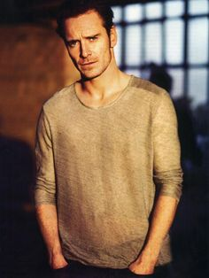 Michael Fassbender.  A new favorite for me - especially when he is threatening people in another language #dontjudgeme