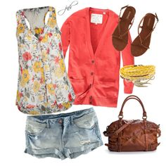 Spring Brights, created by jill-hammel on Polyvore