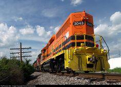 RailPictures.Net Photo: IORY 3043 Indiana & Ohio Railway EMD GP40-2 at Reading, Ohio by David Rohdenburg