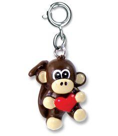 Shop CHARM IT! - Monkey Heart, $6.00 (http://www.shopcharm-it.com/charms/animals/monkey-heart/)
