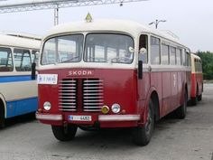 1955 Škoda 706 RO - Wheels On The Bus, Bus Coach, Busse, Trucks, Collector Cars, Old Cars, Motorhome, Cars And Motorcycles, Motorbikes