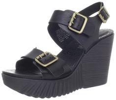 Rockport Women's Kinsley Buckled Sling Wedge Sandal ^^ You can get more details here : Platform sandals